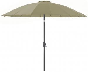 Parasol Pagode 300/18 - Proloisirs - Grey/Argile
