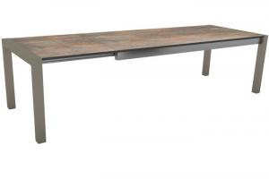 Table Extensible - Stern - 214/254/294 -  Aluminium/HPL - Anthracite/Ferro