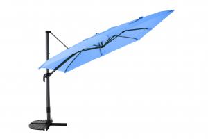 Parasol déporté 3X3 - MWH - Bleu