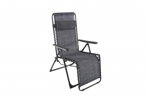 Fauteuil Relax Luno - MWH - Anthracite/Gris chiné