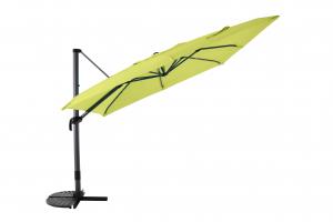 Parasol déporté 3X3 - MWH - Lime