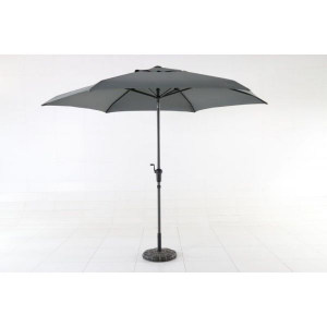 Parasol Inclinable Manivelle 300 cm - MW H - Anthracite