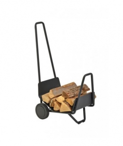 Chariot à bois Trotty - Atelier Dixneuf - Acier - 2 roues