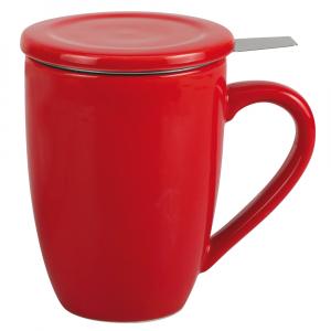 Tisanière 0,4 L - Rouge