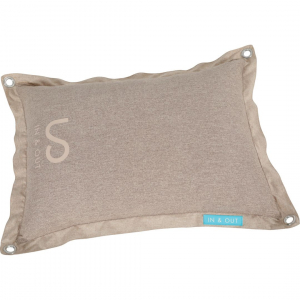 Coussin déhoussable pour chien - Zolux - In/Out - T90 - Taupe