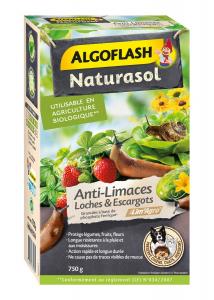 Anti-limaces, loches, escargot 750 gr -Utilisable en agriculture biologique - Algoflash Naturasol