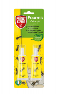 Anti-fourmis gel appâts - Tubes de 2x15g - Protect Expert