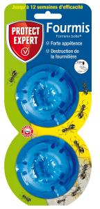 Anti-fourmis gel appâts - Boîtes 2x10g - Protect Expert