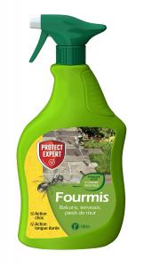 Anti-fourmis prêt à l'emploi au pyrethre végétal 1L - Protect Expert