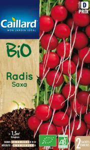 Radis Saxa Bio - Graines - Caillard