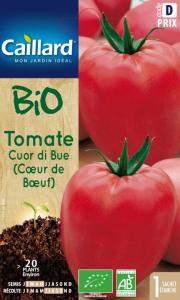 Tomate Cuor Du Bue (C?ur De B?uf) Bio -Graines - Caillard