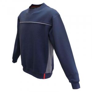 Sweat Tabor - Marine et gris - Du M au 3 XL