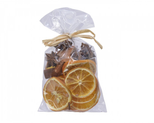 Pot pourri - Tranche orange - Cannelle - Anis - 1 étoile coco