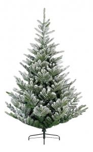 Sapin Liberty - Enneigé -  1036 branches - Vert/blanc - Ø 160 cm - 210 cm