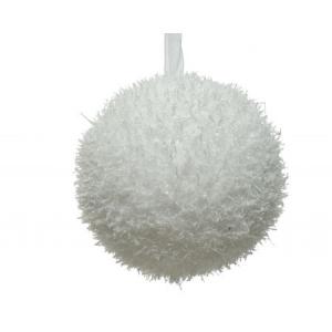 Boule de Noël -  Mousse - Perles paillet tes - Ø 8 cm