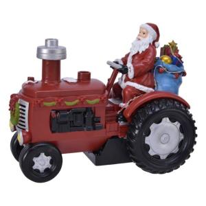 Tracteur - LED - Thème christmas fun effet vapeur