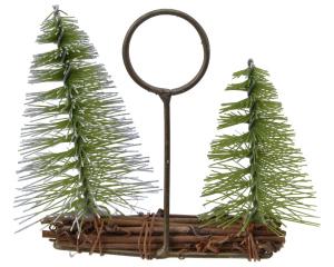 Porte-nom - Saule - Mini arbre - 11x11 cm