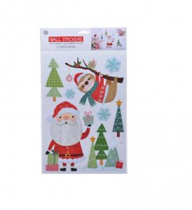 Stickers de Noël - Père Noël et paresseu x