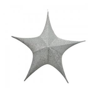 Suspension étoile - Argent - Ø 80 cm