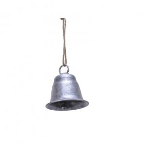 Suspension cloche - Argent - Métal - 7,5 cm