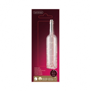 Lumière pour intérieur bouteille - LED - Blanc chaud - 2x9 cm - 15 L