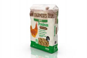 Granulés BIO Pondeuse - 20 kg - Farmer's