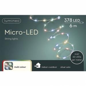 Guirlande en cascade - Gros micro-LED -Multicolore - 6 m