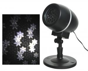 Projecteur flocons tournant - Pique - LED - Blanc froid