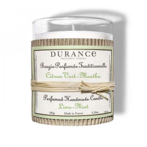 Bougie parfumée Citron vert et menthe -180 g - Durance