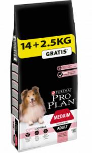 Croquettes Dog Medium Adult Sensitive Sk in Optiderma - 14 + 2,5 kg
