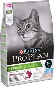 Croquettes Pro Plan pour chats stérilisés Optisavour au cabillaud - 3 kg
