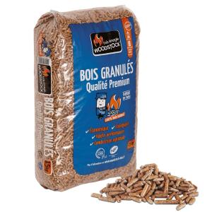 Granulés bois Woodstock - sac de 15 kg