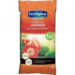 Terre du jardinier - 40 L - Fertiligène