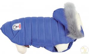 Doudoune pour chien Urban - 25 cm - Bleu