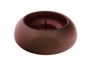 Pied easyfix classic rouge - Métal - Diamètre 39 cm