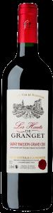 Vin Saint Emilion - Les Hauts de Granget - Rouge - 75 cl