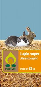 Lapin super - Aliment complet - 25 kg