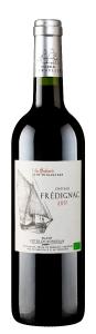 Vin rouge Biologique Bordeaux La Gabare -Château Frédignac