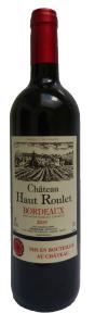 Vin Bordeaux chat haut roulet rouge 75 cl