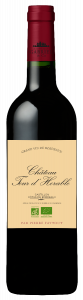 Vin rouge Château Tour d'Horable - Castillon Côtes de Bordeaux75 cl