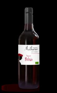 Vin rouge St Chinian - Tango pour hélène - Domaine des Mathurins - 75 cl