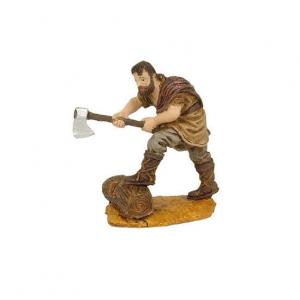 Figurine Bucheron 10cm. Oliver