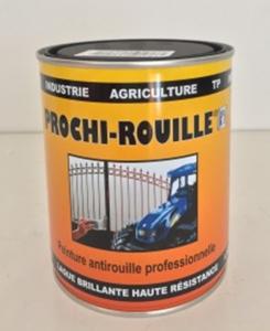 6023617 - Laque Prochi-rouille noir mat Armor - Armor chimie - 0,8 L