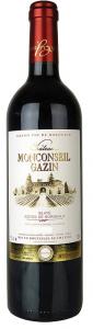 Vin Bordeaux Château Monconseil Gazin - Blaye Côtes de Bordeaux - Magnum 1,5L