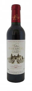 Vin Bordeaux Château Monconseil Gazin - Blaye Côtes de Bordeaux - 37,5 cl