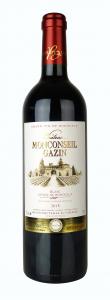 Vin rouge Côtes de Bordeaux - Château Monconseil Gazin - 75 cl