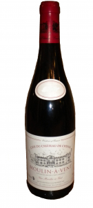Vin rouge Beaujolais - Moulin à vent  - Cave du château de chénas - 75 cl