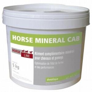 Aliment complémentaire minéral Horse minéral Cab - Horse line - 5 kg