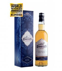 Whisky Breton Blended 'BREIZH' - Distillerie Warenghem - 42° - 70 cl