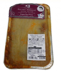 Lasagnes surgelées - Roland Denoual - 1,5 kg